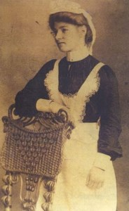 Photo of maid Eleanor Bowden