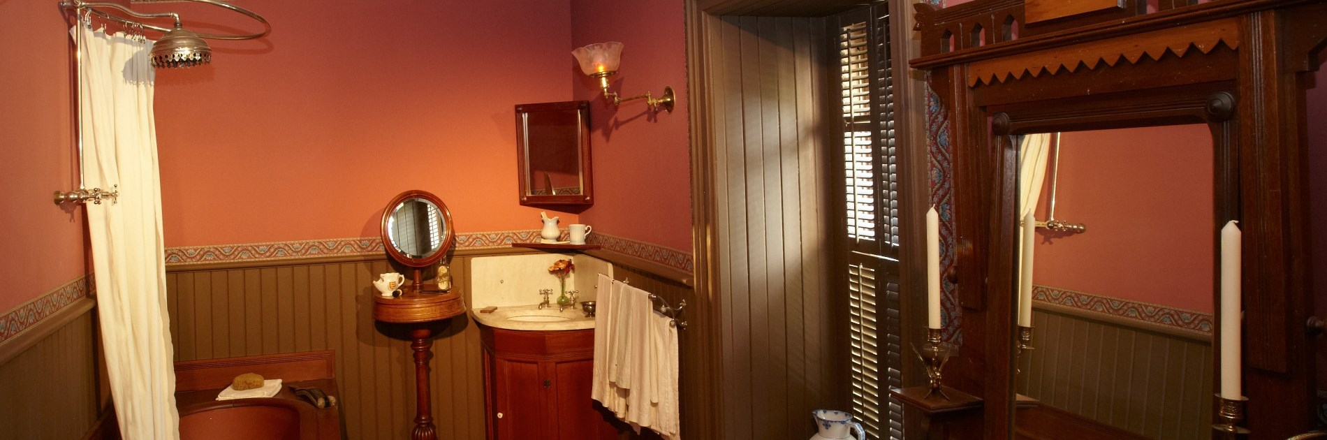 Master Bathroom at Glanmore