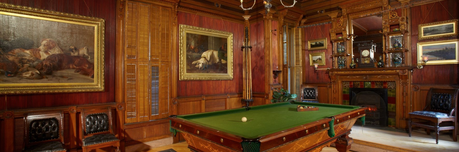 Glanmore National Historic Site Billiard Room