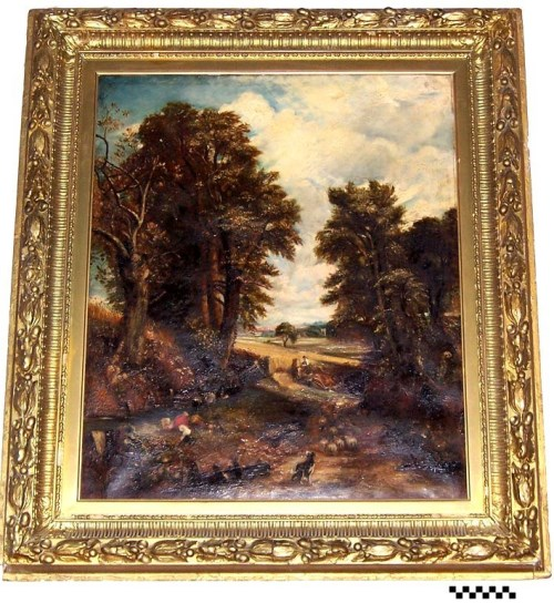 Copy of Constable painting