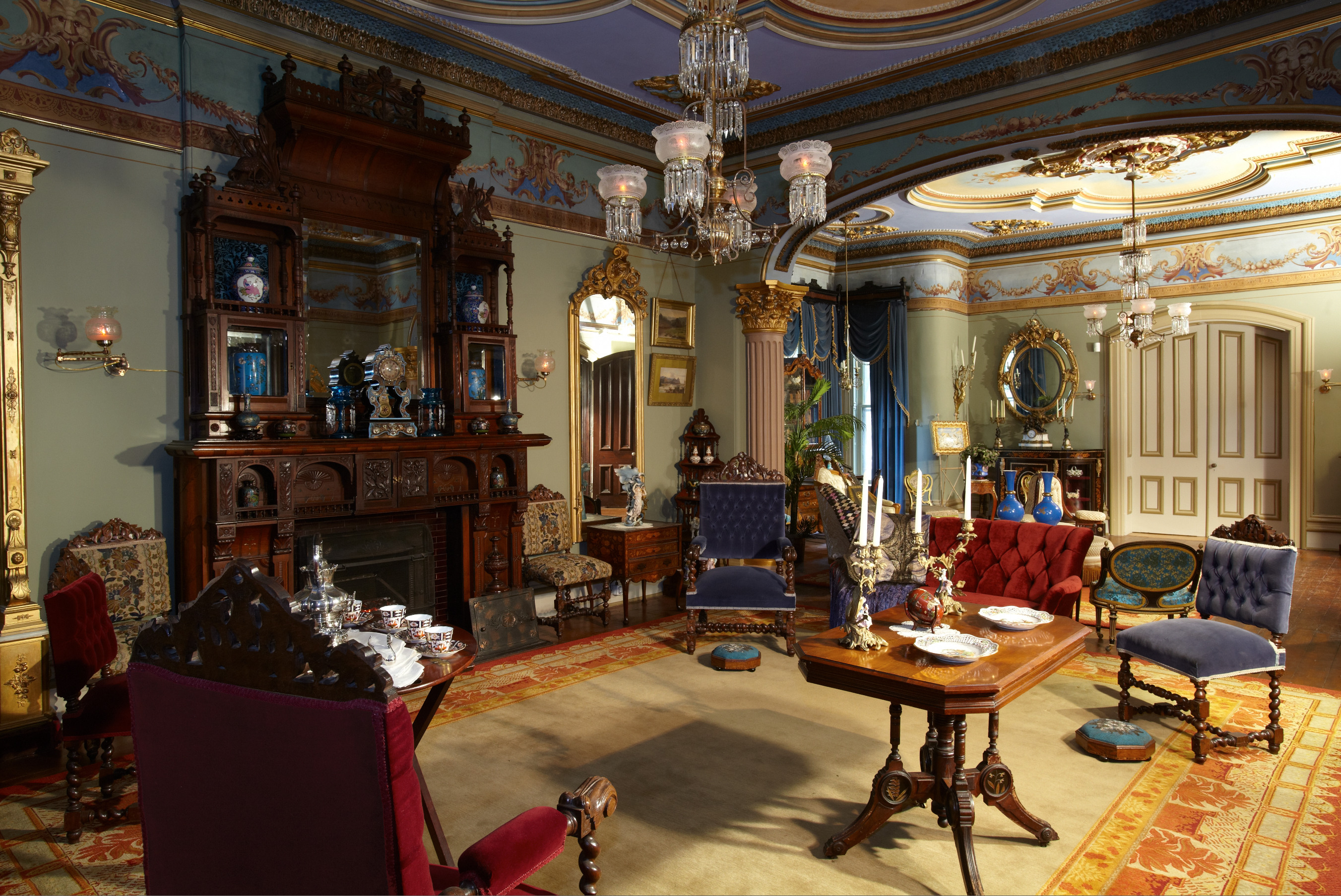 Glanmore drawing room